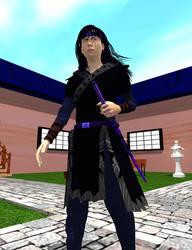Seishiro the Samurai by victorialampini