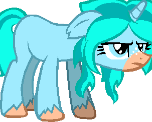 Angry Fluffy Mint by XxRainbowStarDustxX