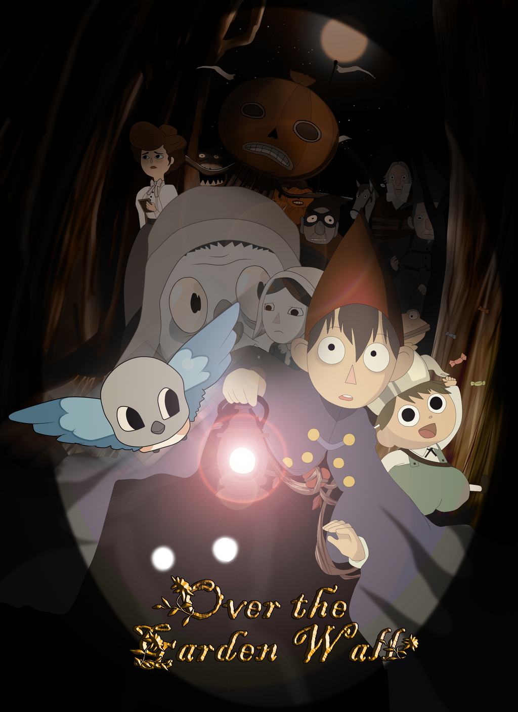 Otgw Follow The Path By Muffin Mixer On Deviantart