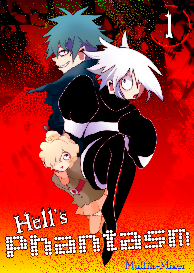 Hell's Phantasm: New Cover by muffin-mixer