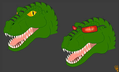Tal Head Sketches 2014 (Color)
