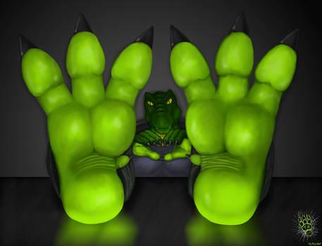 Tal Desk Feet