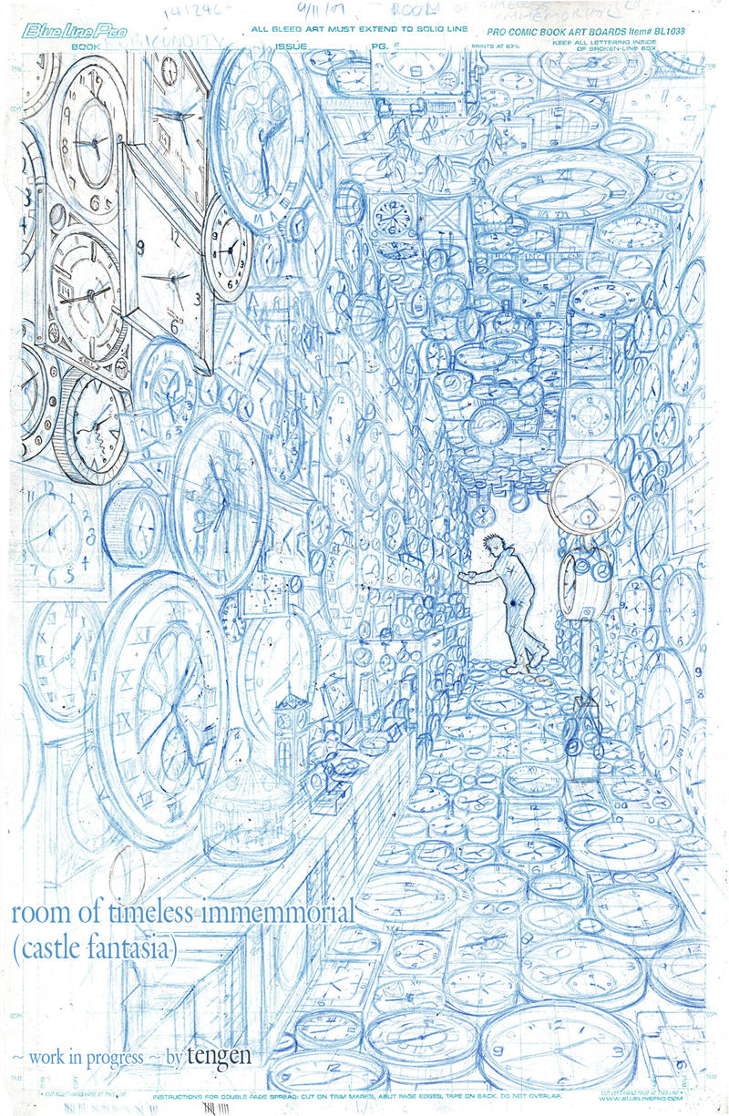 Room of Timeless Immemorial by tengen