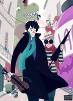 Sherlock: The Fandom by wibblywobblytimecake
