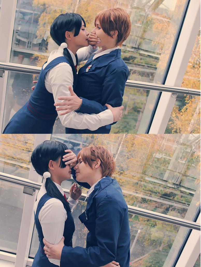 Kissing Time by Strike-kun