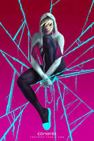 Spider-Gwen by Corverez