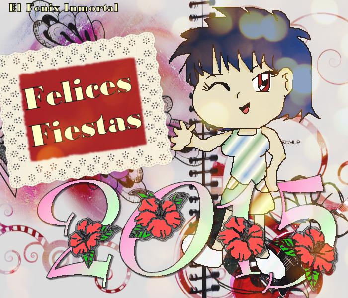 Felices Fiestas By El Fenix Inmortal by EL-FENIX-INMORTAL