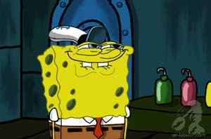 Spongebob Squarepants by airlobster
