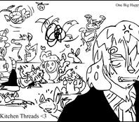 Sanji's Kitchen Threads by airlobster
