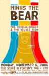 Minus the Bear concert poster
