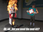 Did you need the med-kit