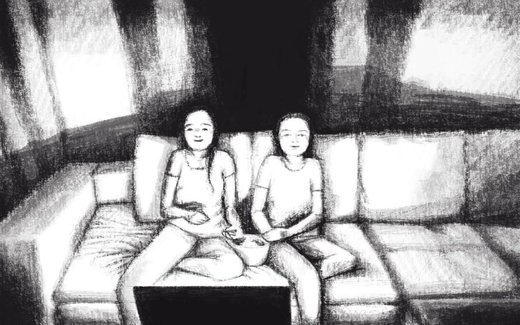 Assistindo tv by cassianaomi
