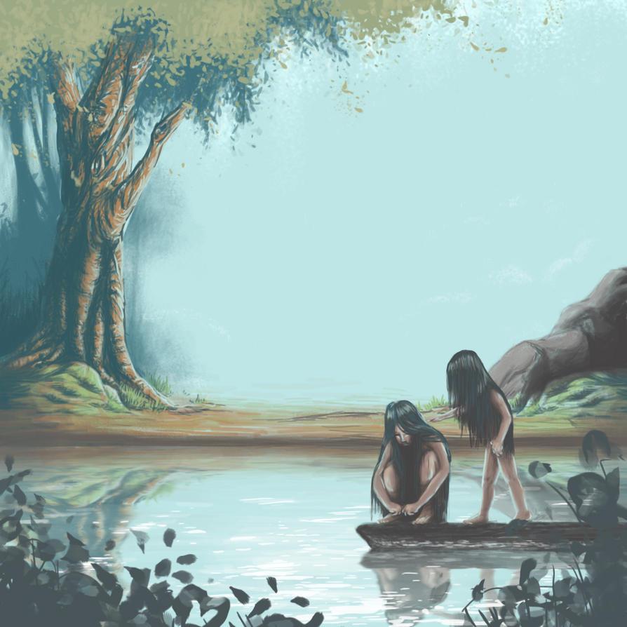 Meninas-lobo by cassianaomi