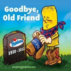 Goodbye Hostess by mannycartoon