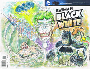 Sketch Cover Dark Knigh Returns