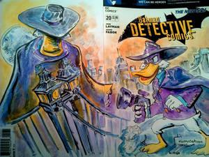 Sketch Cover Darkwing Duck