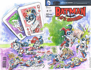 Sketch Cover All Harley Quinns