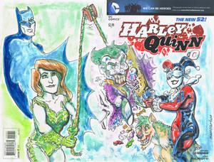 Ivy and Harley Quinn Pinata Party
