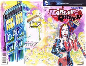 Sketch Cover Harley Quinn Rose