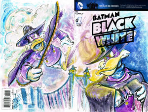 Darkwing Close up Sketch Cover