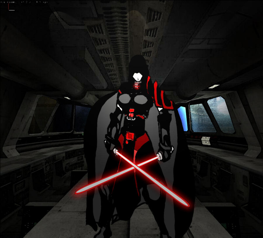 TOR Decorating | Pureblood Sith Lord (Female)