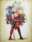 Harley Quinn Pinup