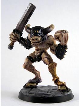 Minotaur of Slaanesh