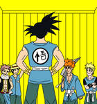 Goku and his students