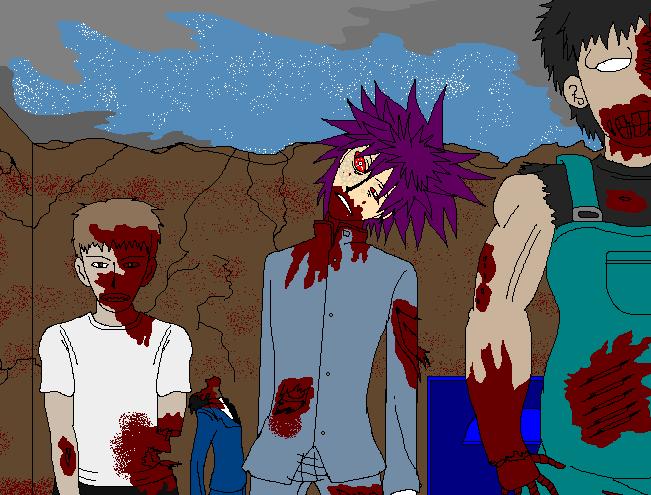 Halloween Challenge - Day 30 - Undead by Kaiju-Borru-Zetto