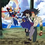 Art Request- Domon x Melfina