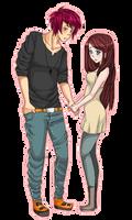 Clasper Pixel Love by MizumiHisui