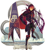 I--N: Dark Knight Nero by MizumiHisui