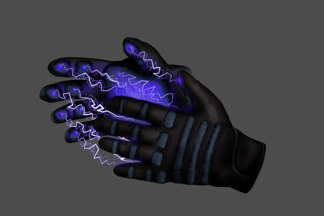 Lightning Gloves by Furious-Midget