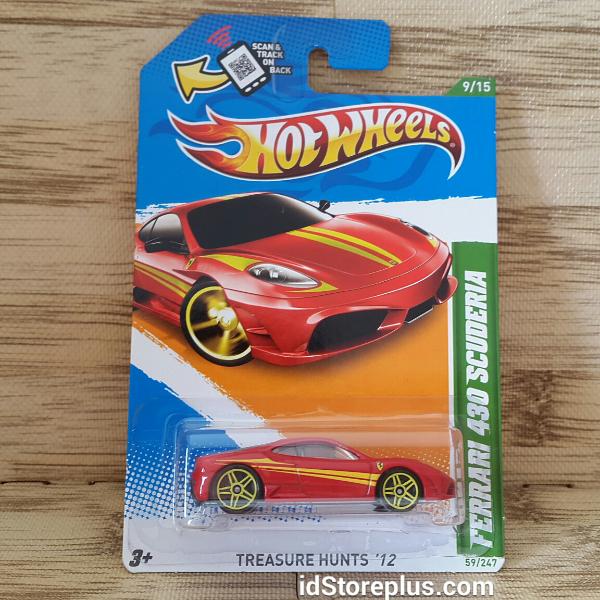 Hot Wheels Ferrari 430 Scuderia Treasure Hunts 12 By Idstoreplus On