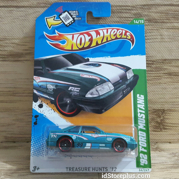 HOT WHEELS 2012 '95 FORD MUSTANG TREASURE HUNTS by idstoreplus on DeviantArt