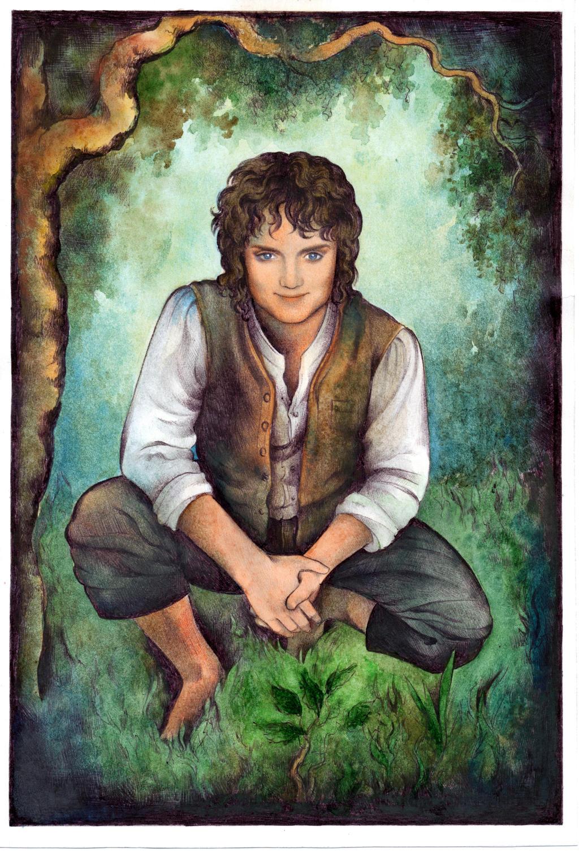 Frodo Smile by ebe-kastein