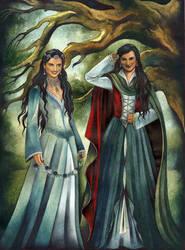 Arwen's Daughters by ebe-kastein