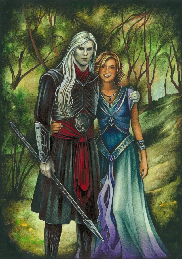 Tiffany and Nuada by ebe-kastein