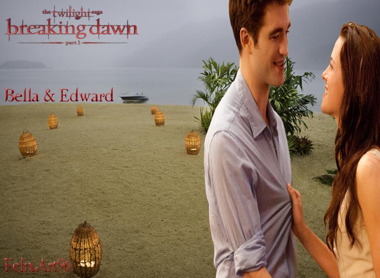 Bella and Edward honeymoon Breaking Dawn Part 1 by ...