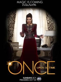 Regina OUAT Poster