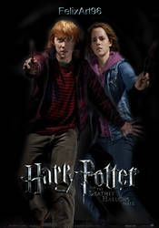 HP And DHP2 Ron and Hermione