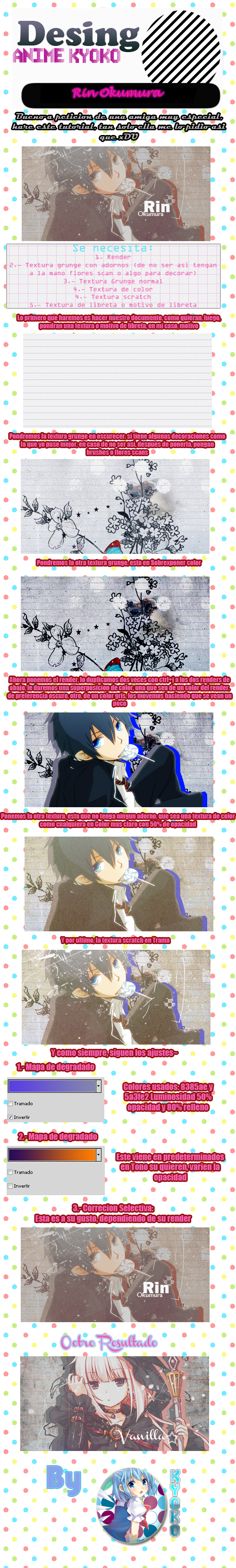 Tutorial Rin Okumura by Togame-chan