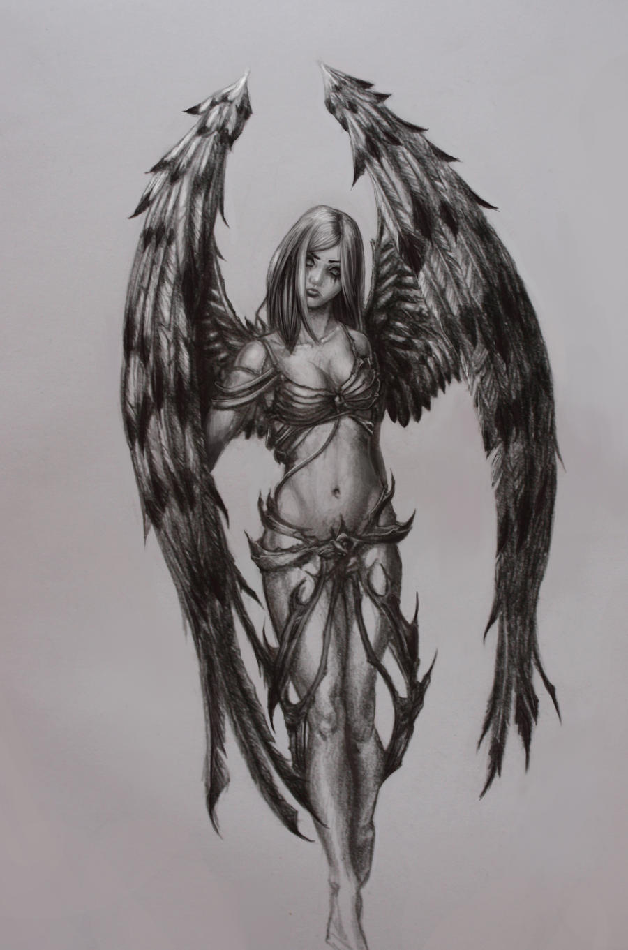 Angel Sketch By La-SaGnE On DeviantArt