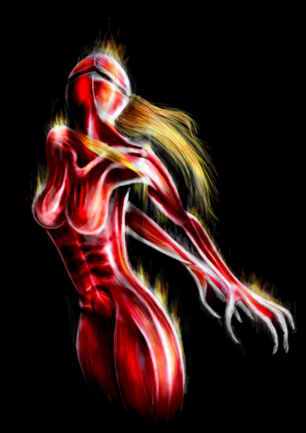 Cyborg Girl by La-SaGnE