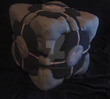 Plush Companion Cube