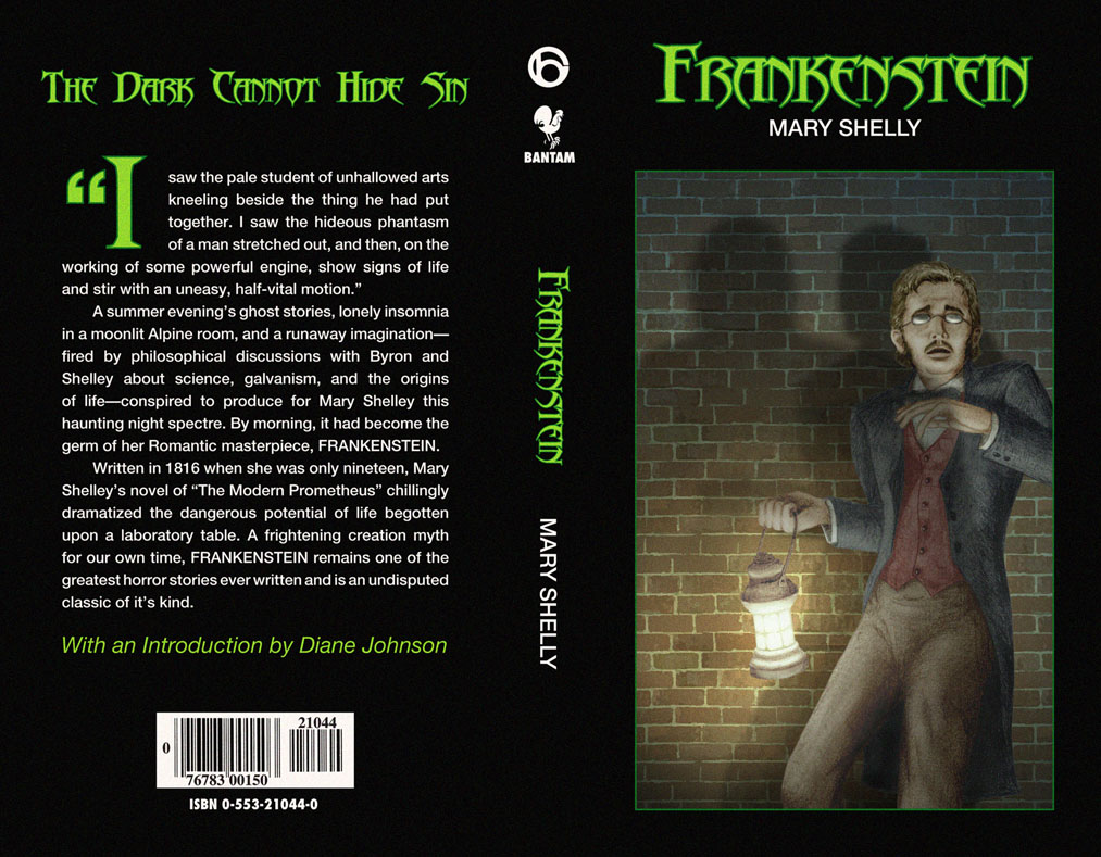 the thin line between good and evil in mary shelleys story frankenstein Frankenstein: the best and worst the series also featured the evil of frankenstein  has the effect of demonstrating the thin line between both damaged souls.