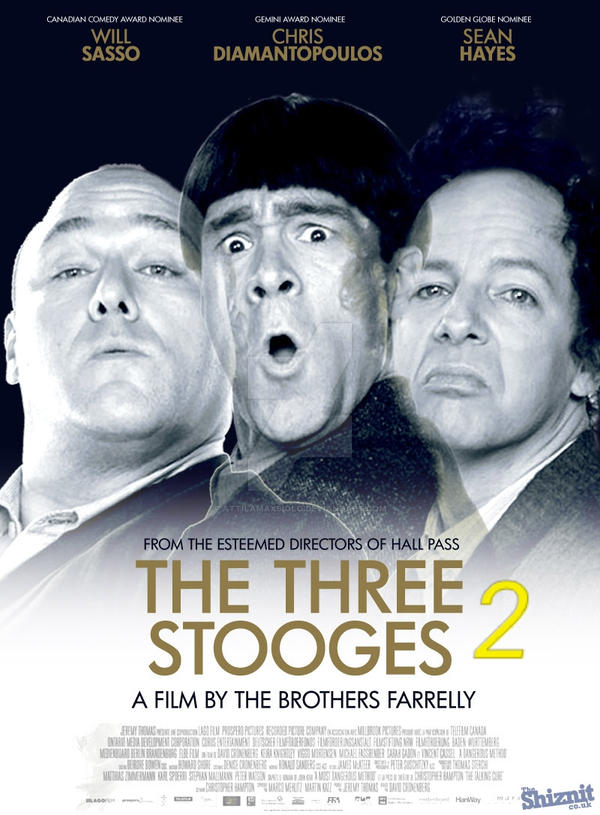 The Three Stooges 2 Film by farrelly brothers by attilamaxsiolo