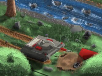 Battlemaster Tank Rest