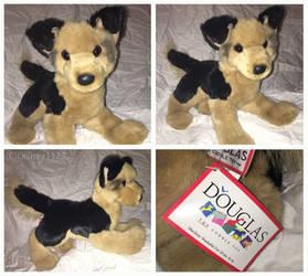 Douglas Medium Floppy Dogs- Lester German Shepherd