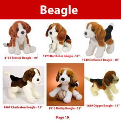 Douglas Cuddle Toys Dogs Guide- Beagle